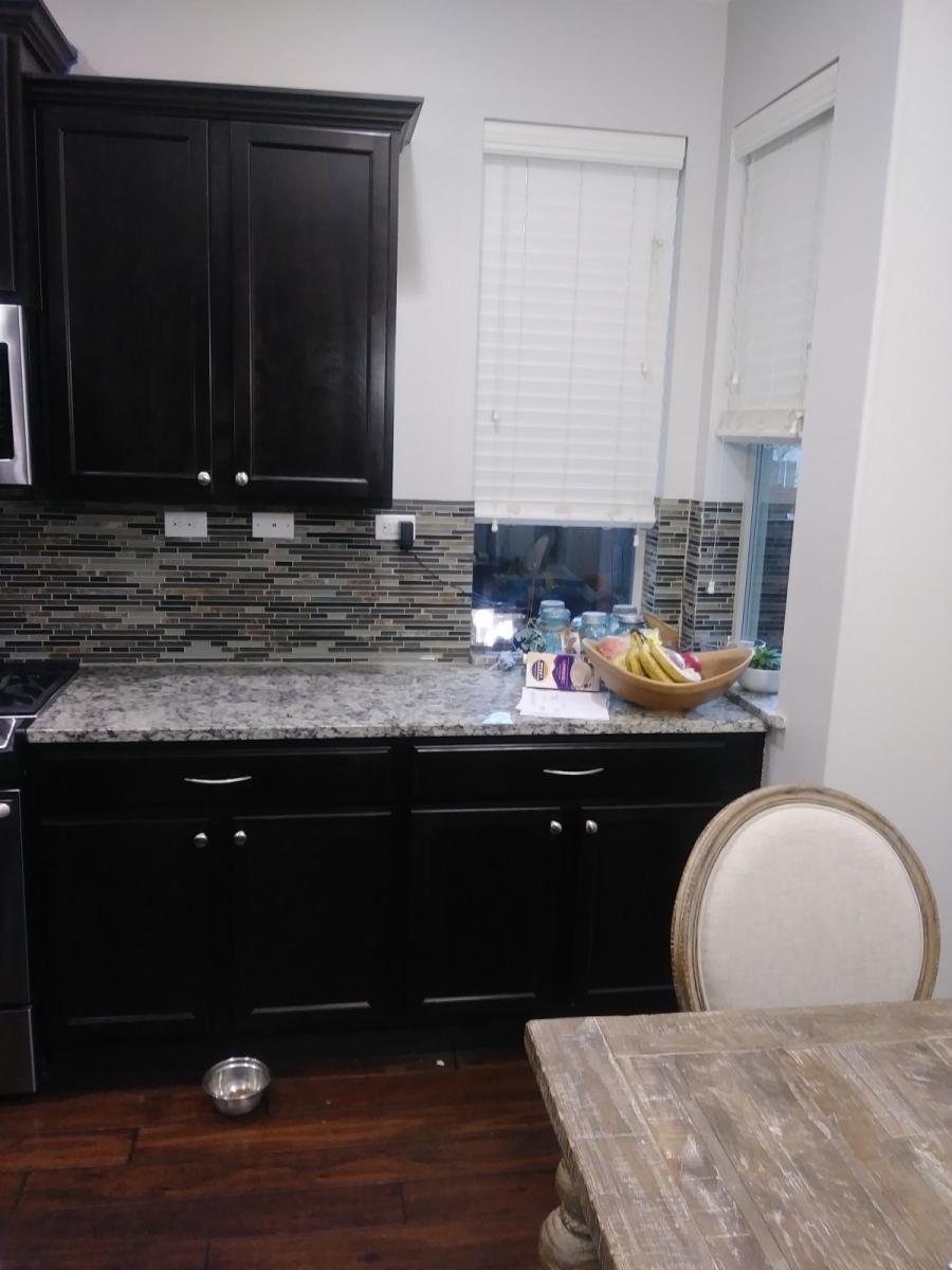 Auburn Kitchen cabinet refinish before picture