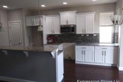 Auburn kitchen cabinet refinishing after photo